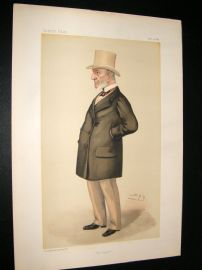 Vanity Fair Print 1886 John Simon, Legal